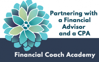 financial advisors and financial coaches
