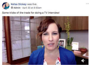 Tips and tricks for when you are interviewed on TV