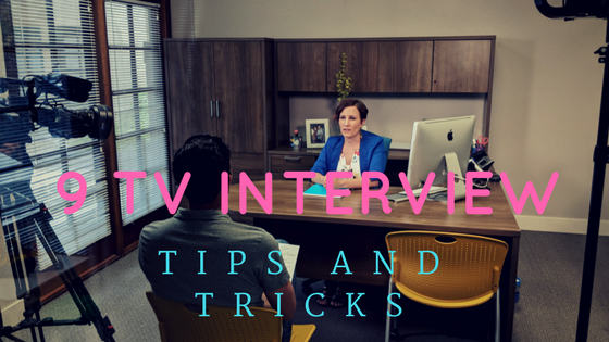 9 tips for when you are being interviewed on TV